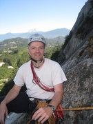 Rock Climbing Photo: Ed ready for the belay!