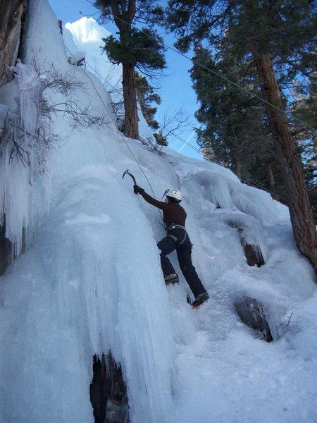 Rock Climbing Photo: me!!!