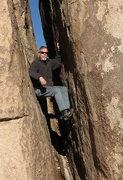 "Rock Climbing Photo: Locker in ""Locker's Chimney"". Photo by B..."