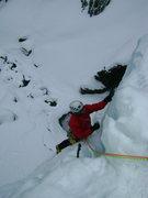 Rock Climbing Photo: Topping P1.