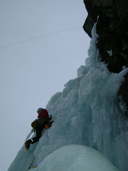 Heading up P2 <br> Sweetest pitch ever!