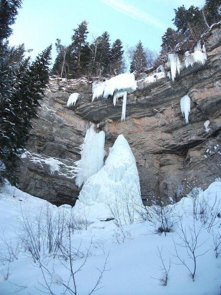 Rock Climbing Photo: Fang 1/31/10