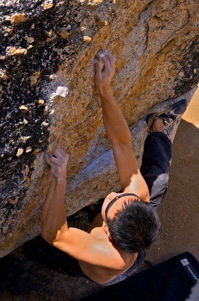 Rock Climbing Photo: Kauk Problem