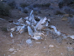 Rock Climbing Photo: The remains of someone's home