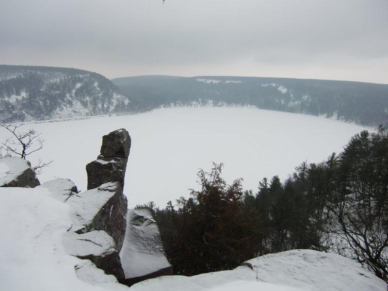 Rock Climbing Photo: Prospect Point