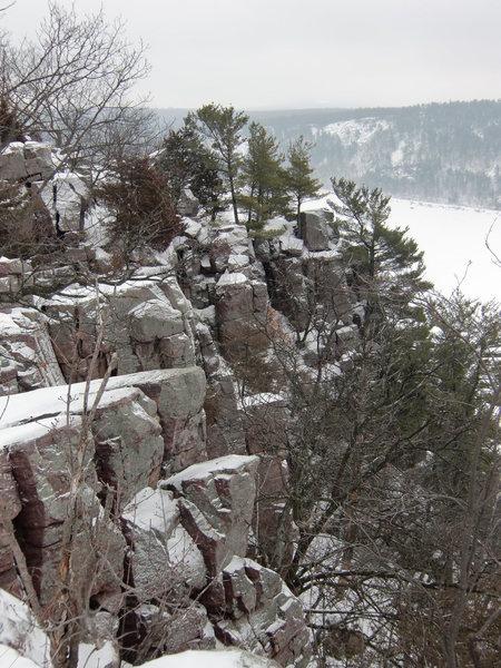 Rock Climbing Photo: Cleo's Amphitheatre