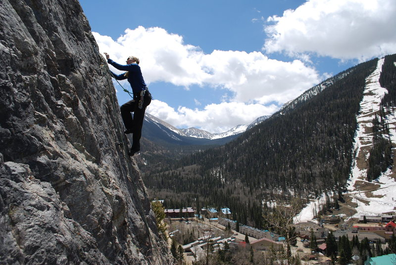 Rock Climbing Photo: TAOS. FoleyPhoto