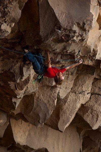 Rock Climbing Photo: Jay,Taos Bat Cave. BurrPhoto