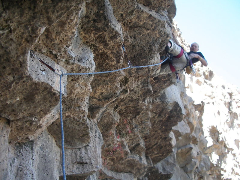 Rock Climbing Photo: Kevin,Bat Cave. FoleyPhoto