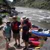 Vali Valus, The late great Cole Gittenger,and Chris Dahl-Bredine at San Christobal confluence.