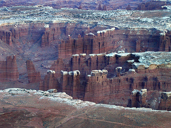 Canyonlands.<br> Photo by Blitzo.