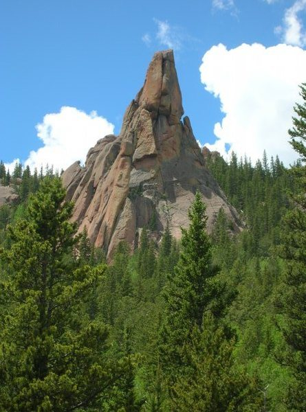 Rock Climbing Photo: Wigwam Tower.