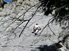 "Rock Climbing Photo: ""Incline Club"" - First lead."