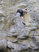 "Rock Climbing Photo: ""Purple and Green"" - first 5.11 ""pr..."