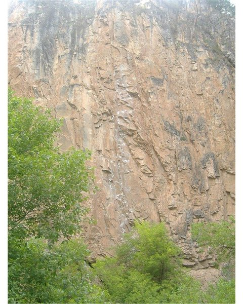 "Rock Climbing Photo: ""Feline"" - proudest onsight to date."