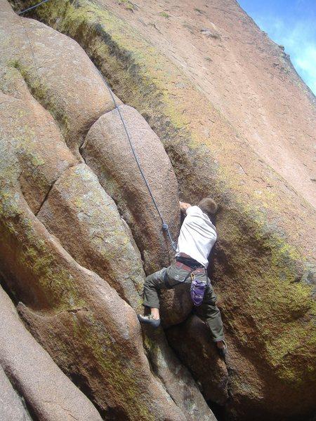 "Rock Climbing Photo: ""Horn's Mother"" - hardest climb ever?"