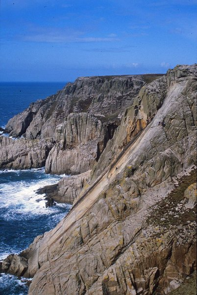 Rock Climbing Photo: The Devil's Slide, Lundy