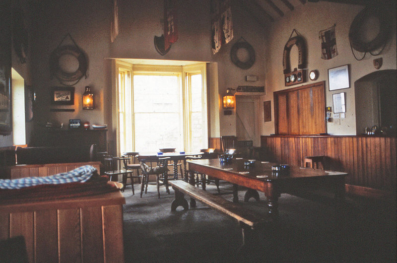 The Marisco Tavern is at the heart of lundy, and provides the perfect setting, with the perfect ale, so discuss the finer points of the days activities.