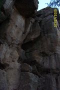 Rock Climbing Photo: The Way Out on the neanderthal wall.  Nice long st...
