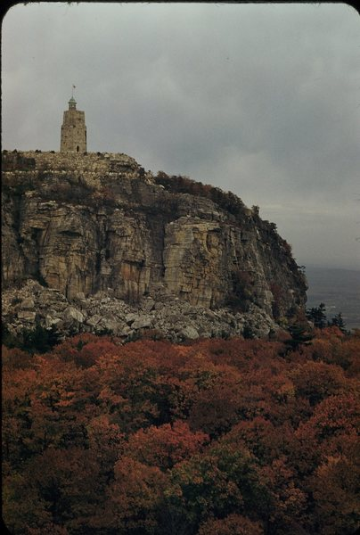 View from Mohonk House 1956
