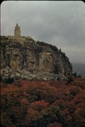 Rock Climbing Photo: View from Mohonk House 1956