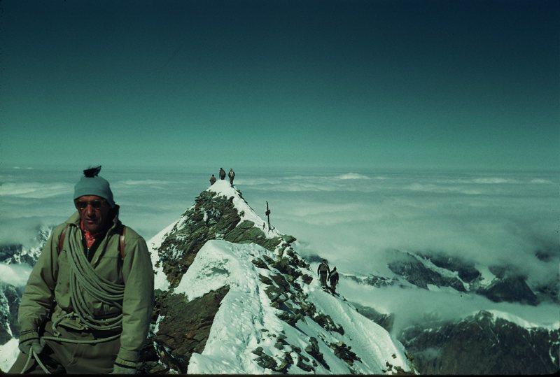 Matterhorn Summit 1950's ascent