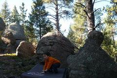 Rock Climbing Photo: Nice landing.