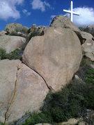 Rock Climbing Photo: The Finger Crack, Rubidoux