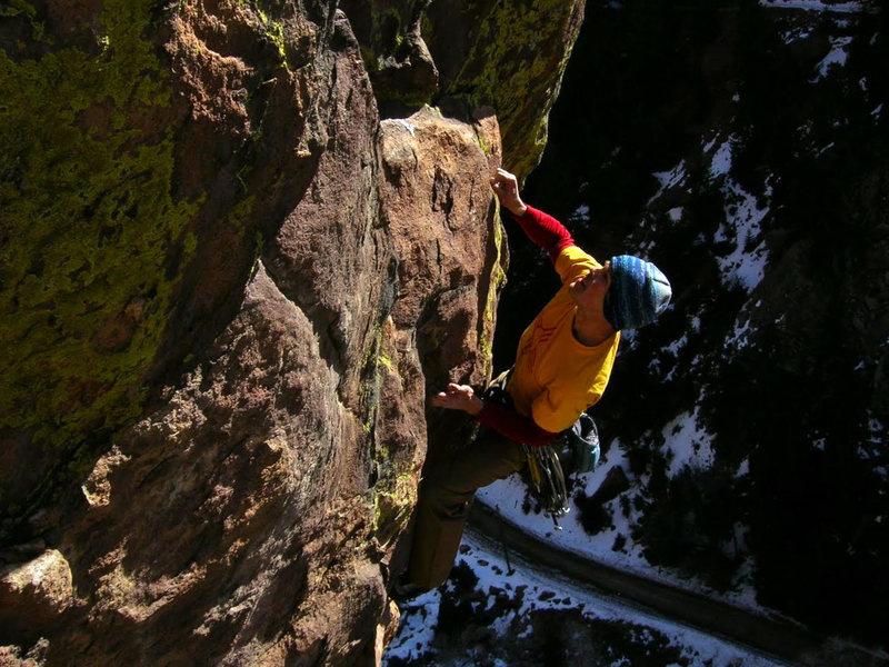 Rock Climbing Photo: Kickin' Chicken 5 of 5.  Photo by Rob Kepley.