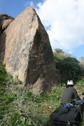 Rock Climbing Photo: Worked both sides of this and attempted the direct...