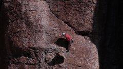 Rock Climbing Photo: Marcy heaving ho part II.