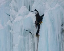 Rock Climbing Photo: Stewart right