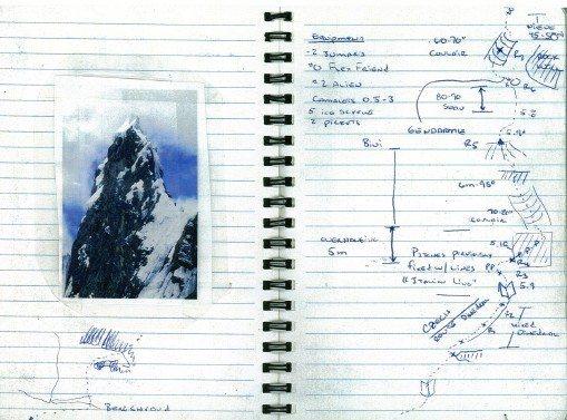 Rock Climbing Photo: Unfinished Business