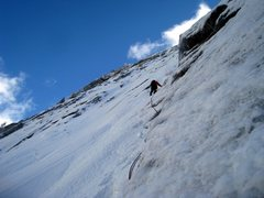 Rock Climbing Photo: 2010_02_07 - Ice climbing at Tahquitz on the North...