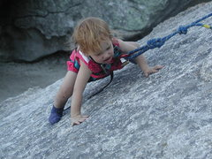 Rock Climbing Photo: Ava at City of Rocks.
