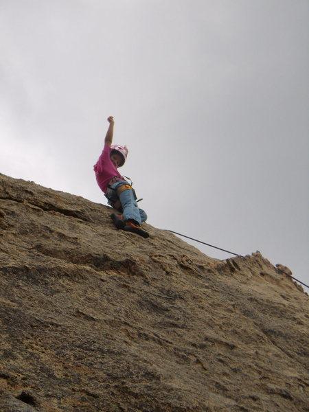 Celi climbing at Big Bear California 2007