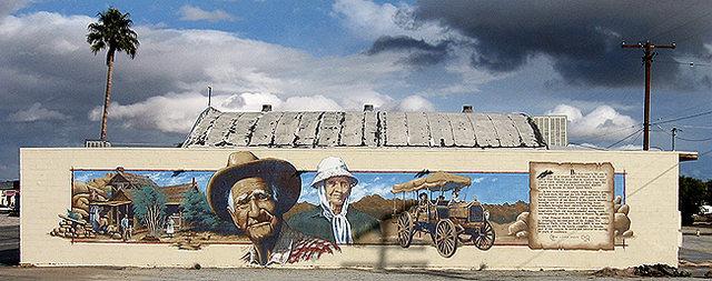 Bill Keys Mural.<br> Photo by Blitzo.