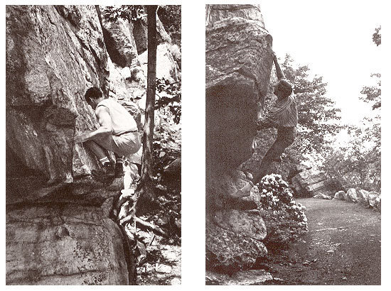 Here's Gill repeating Larsen's Problem (left picture) and Gill on the Gill Egg (right picture).