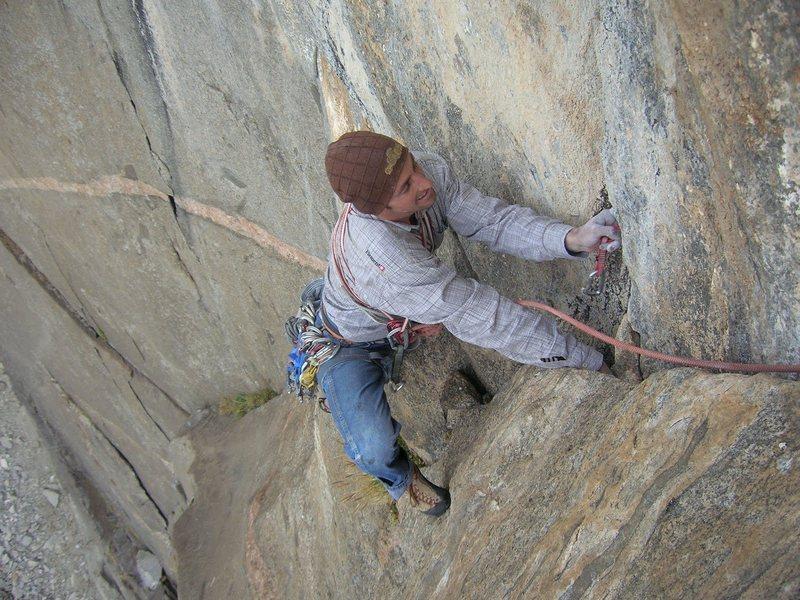"Rock Climbing Photo: mt. evans ""espresso .11a"""