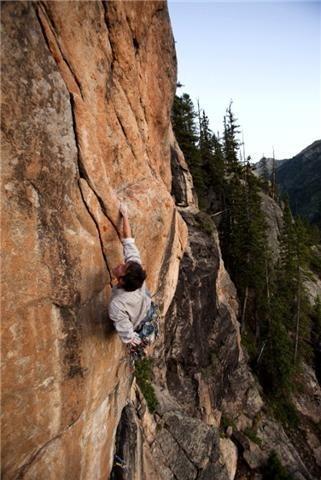 Rock Climbing Photo: .12+ La Nueva Esperanza, independence pass,co. Pho...