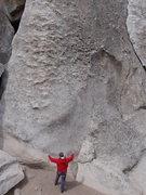 Rock Climbing Photo: Paul pulling rope