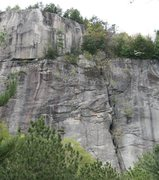 Rock Climbing Photo: Thin Air Face