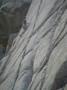 Rock Climbing Photo: I forget what trhis route is,  maybe South Cracks