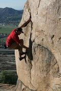 "Rock Climbing Photo: Eric ""Jedi"" Odenthal on 1-24-10"