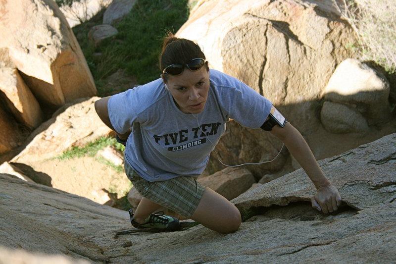 Rock Climbing Photo: Agina Sedler 2009