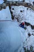 Rock Climbing Photo: the low angle start...