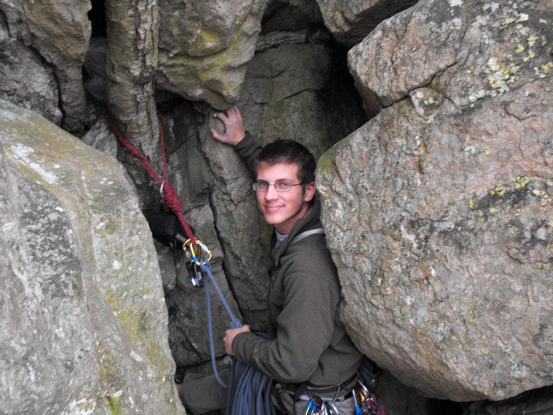 Rock Climbing Photo: Tree anchor