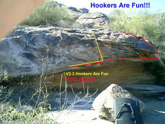 Rock Climbing Photo: Hookers are Fun and Superfly