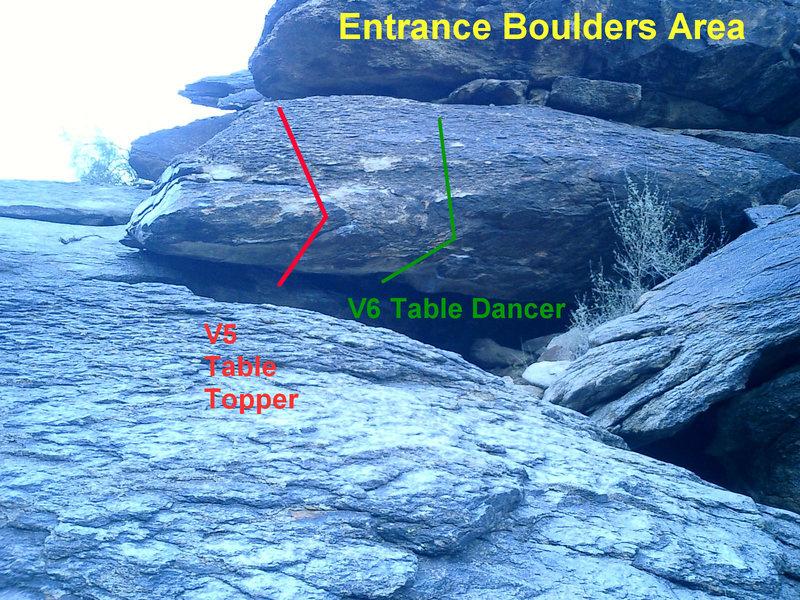 Entrance Boulders