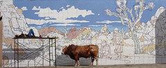 Rock Climbing Photo: Hidden Valley Cattle Mural. Photo by Blitzo.